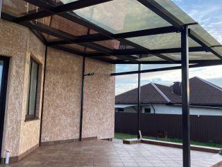 Купить стеклянные навесы для дома в Минске